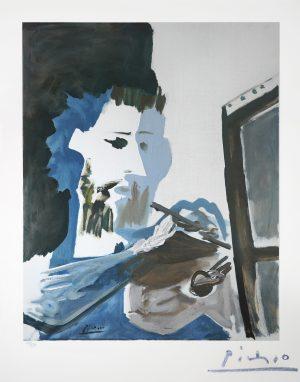 Picasso - Le Peintre